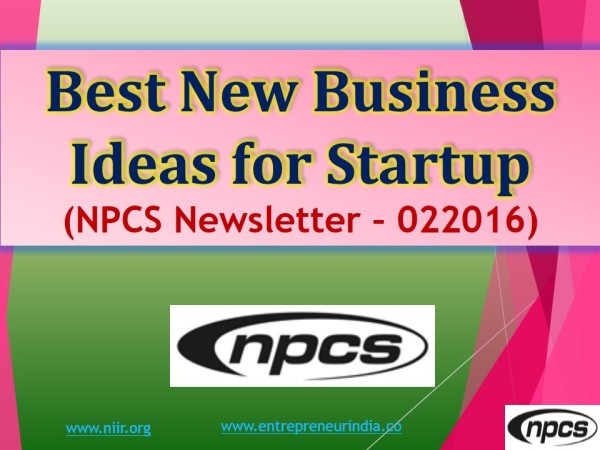 Best New Business Ideas for Startup