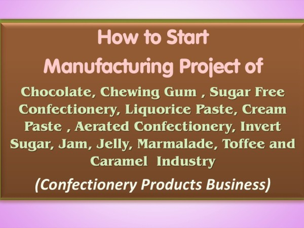 Confectionery Products Handbook