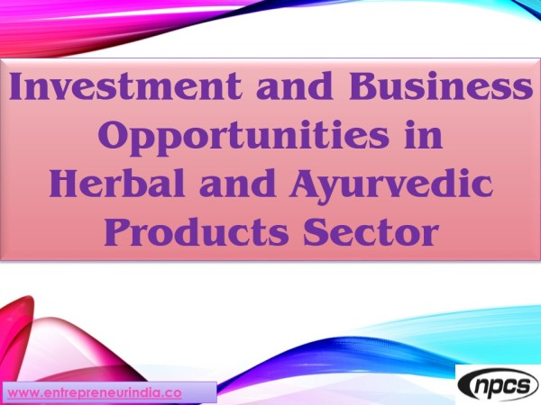 Herbal and Ayurvedic Products