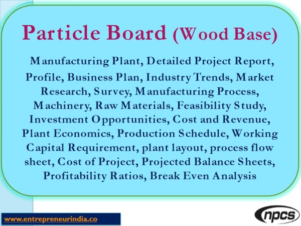 Particle Board Wood Based