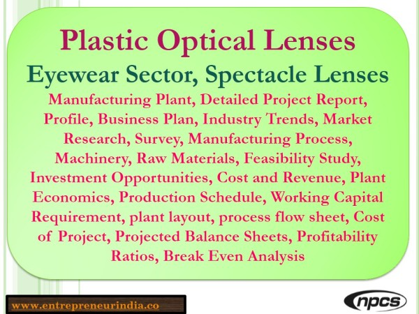 Plastic Optical Lenses