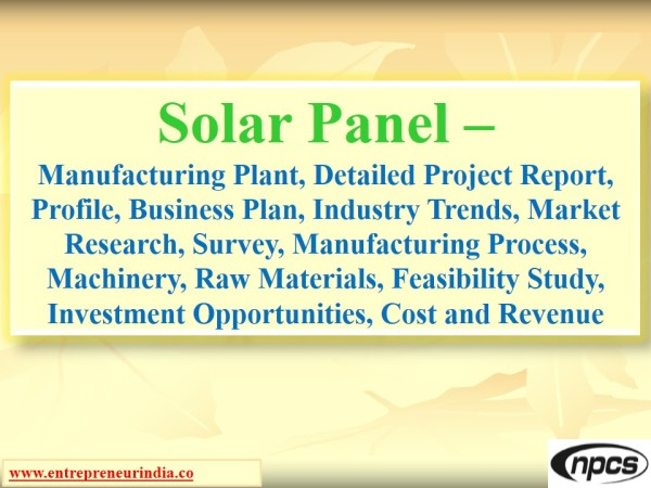 A Sample Solar Energy Farm Business Plan Template