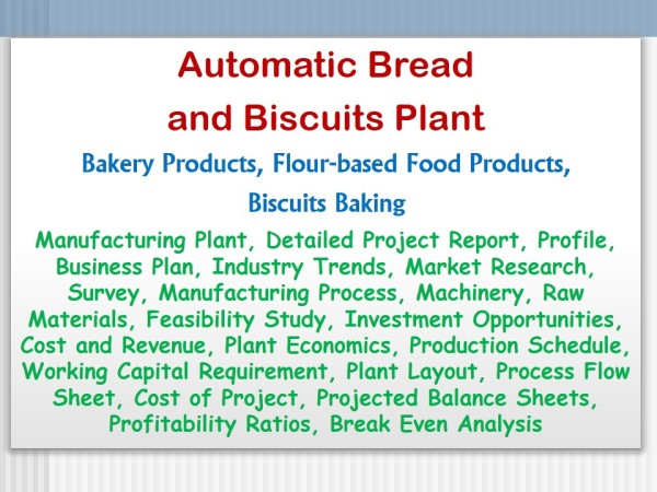Food product business plan