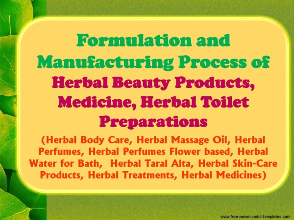 herbal-beauty-products-with-formulations-and-processes