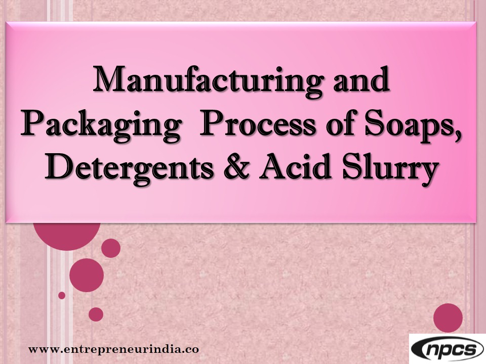 industry structure of soap and detergents in india