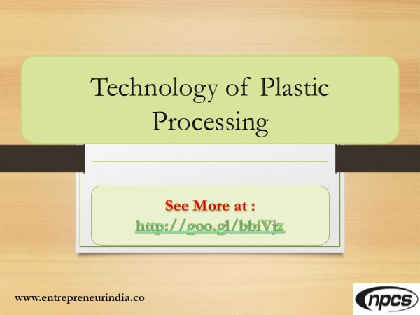 technology-of-plastic-processing-industries