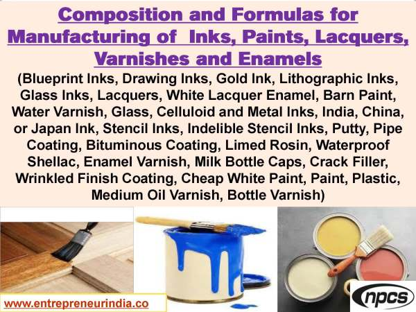 Selected Formulary Book on Inks, Paints, Lacquers, Varnishes and Enamels_Page_001