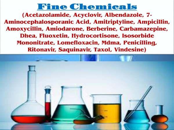 Fine Chemicals(Acetazolamide, Acyclovir, Albendazole, 7-Aminocephalosporanic Acid, Amitriptyline, Ampicillin, Amoxycillin, Amiodarone,_Page_001