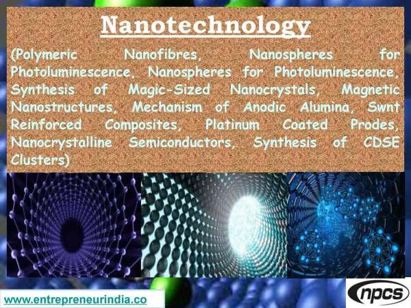 Nanotechnology (Polymeric Nanofibres, Nanospheres for Photoluminescence)