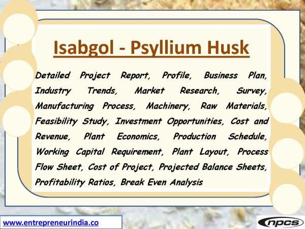 Isabgol - Psyllium Husk