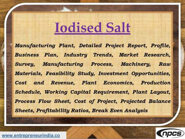 Iodised Salt
