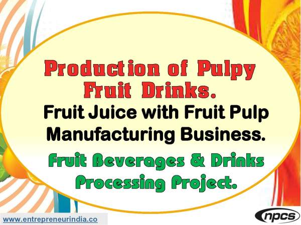 Production of Pulpy Fruit Drinks. Fruit Juice with Fruit Pulp Manufacturing Business..jpg