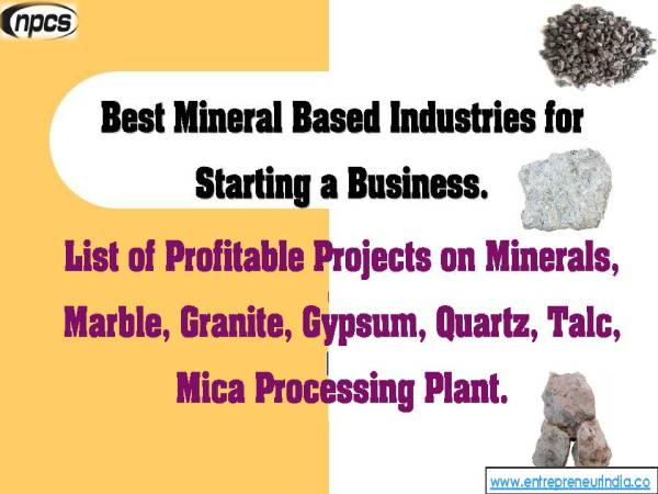 Best Mineral Based Industries for Starting a Business..jpg