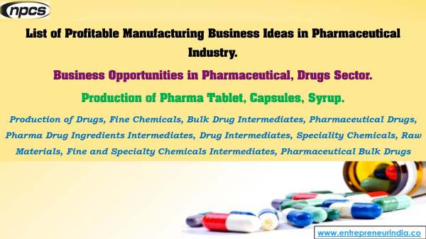 List of Profitable Manufacturing Business Ideas in Pharmaceutical Industry..jpg
