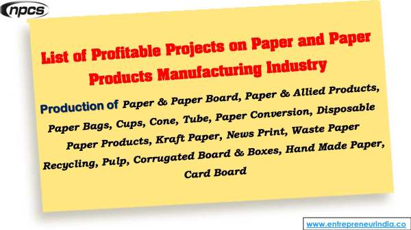 List of Profitable Projects on Paper and Paper Products manufacturing industry.jpg