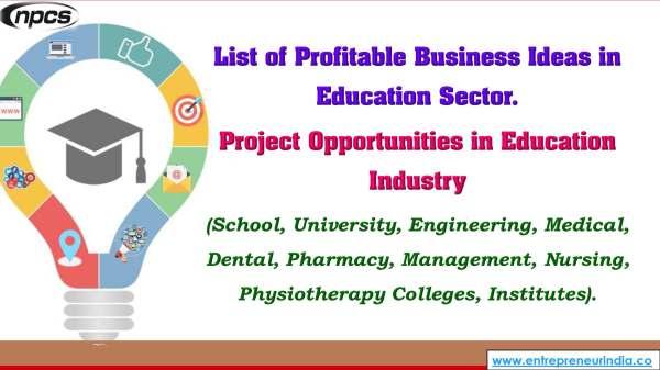 List of Profitable Business Ideas in Education Sector..jpg