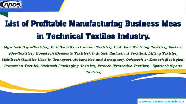 List of Profitable Manufacturing Business Ideas in Technical Textiles Industry..jpg