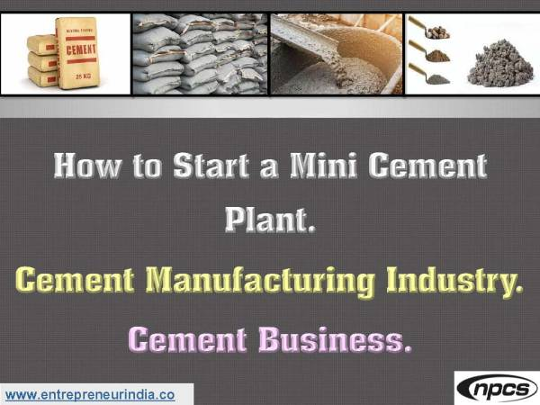 How to Start a Mini Cement Plant..jpg