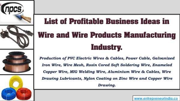 List of Profitable Business Ideas in Wire and Wire Products Manufacturing.jpg