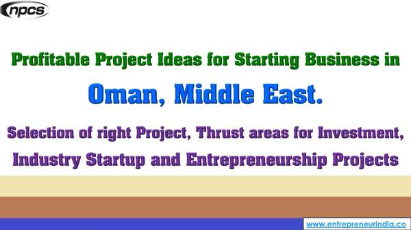 Profitable Project Ideas for Starting Business in Oman, Middle East..jpg