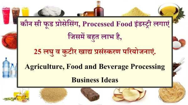 कौन सी फूड प्रोसेसिंग, Processed Food इंडस्ट्री लगाएं.jpg