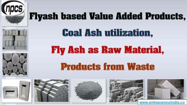Flyash based value added products